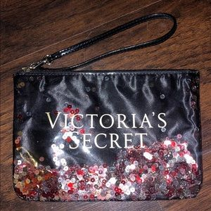 Victoria's Secret sequin clutch